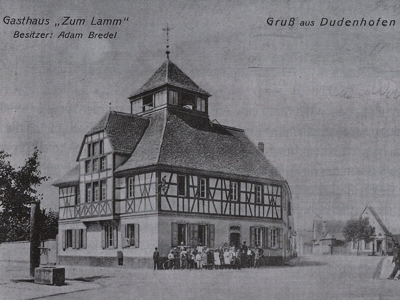 Hoteltraditie Goldenes Lamm